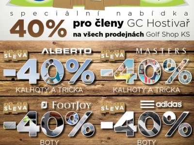 newsletter - Alberto, Masters, FJ a Adidas -40%