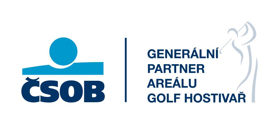 ČSOB partner areálu Golf Hostivař