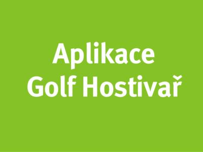Aplikace Golf Hostivař