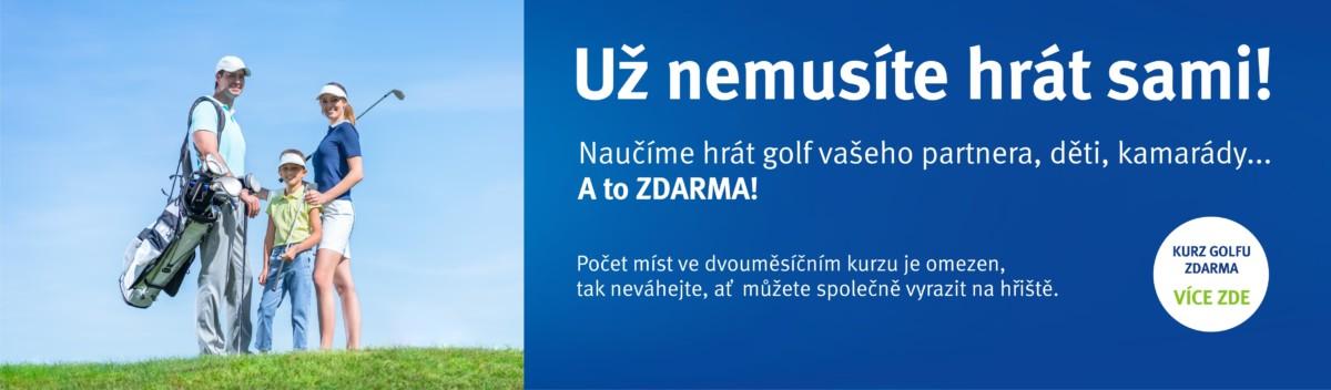 Hlavní Golf Hostivař promo