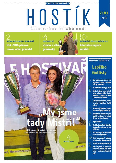 Magazín Golf Hostivař