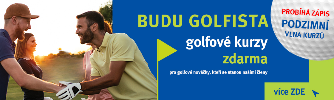 Golf Hostivař Banner