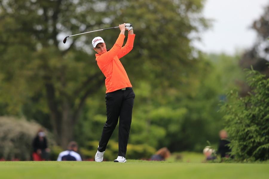 Ondřej Melichar- nejen mistr klubu, vítěz Czech Golf Amateur Tour, ale také nejlepší hráče prvních dvou kol extraligy v Sokolově