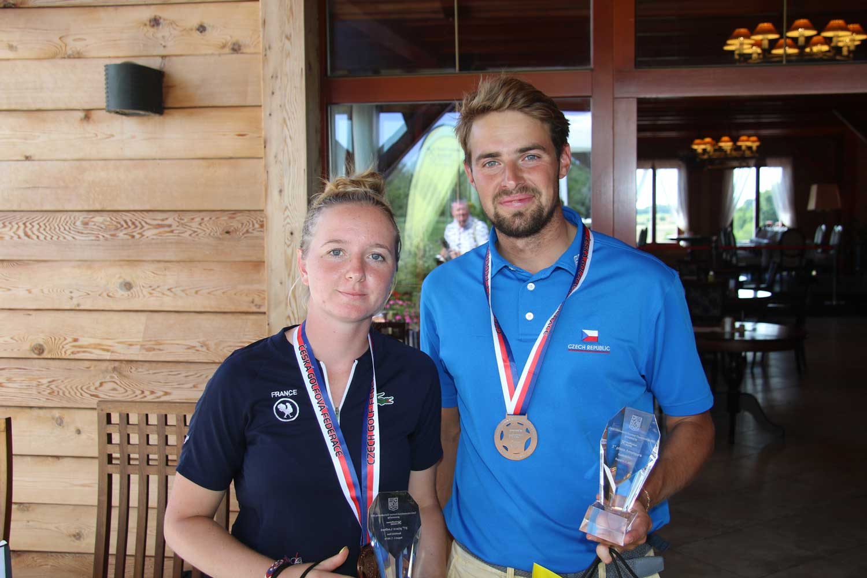 Bronzoví Adela Cernousek a Dominik Pavouček (Foto: Ivan Paggio)